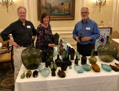 Doug Simms speaks on antique bottle collecting and America's first industry – glassmaking