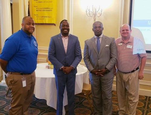 Two new members join the Montgomery Capital Rotary Club in August